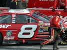 In the pits with Dale Earnhardt Jr at Homestead, FL November 2004